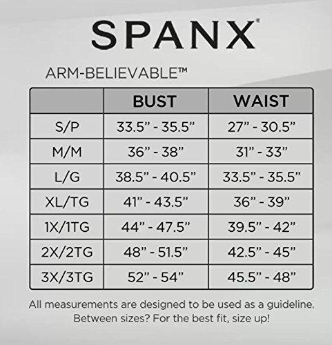 580985129e495 Spanx Sara Blakely Arm-Believable Toning Arm Shaper - Black -   Amazon.co.uk  Clothing