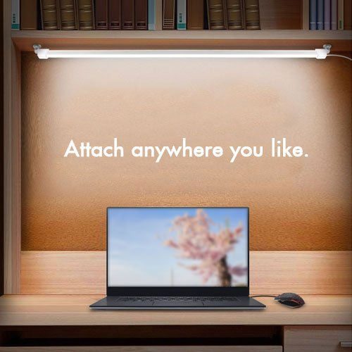EasiLife-USB-LED-Light-USB-LED-Sticker-LED-Light-Bar-Emergency-Light-Outdoor-Light-Cord-Comes-with-Onoff-Switch-Attach-Anywhere-You-Like-with-Magnet-13inch-30-LED-5W-LED-Strip-Light