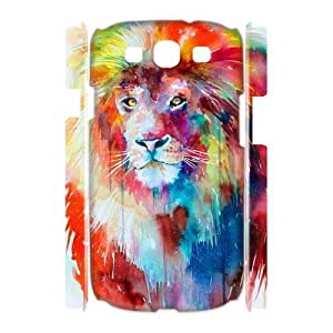 Lion Customized 3D Cover Case for Samsung Galaxy S3 I9300,custom phone case ygtg541722