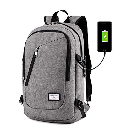 Backpack Business Resistant Polyester Charging