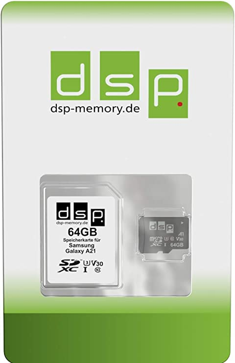64 Gb Microsdxc Memory Card For Samsung Galaxy A21 Computers Accessories