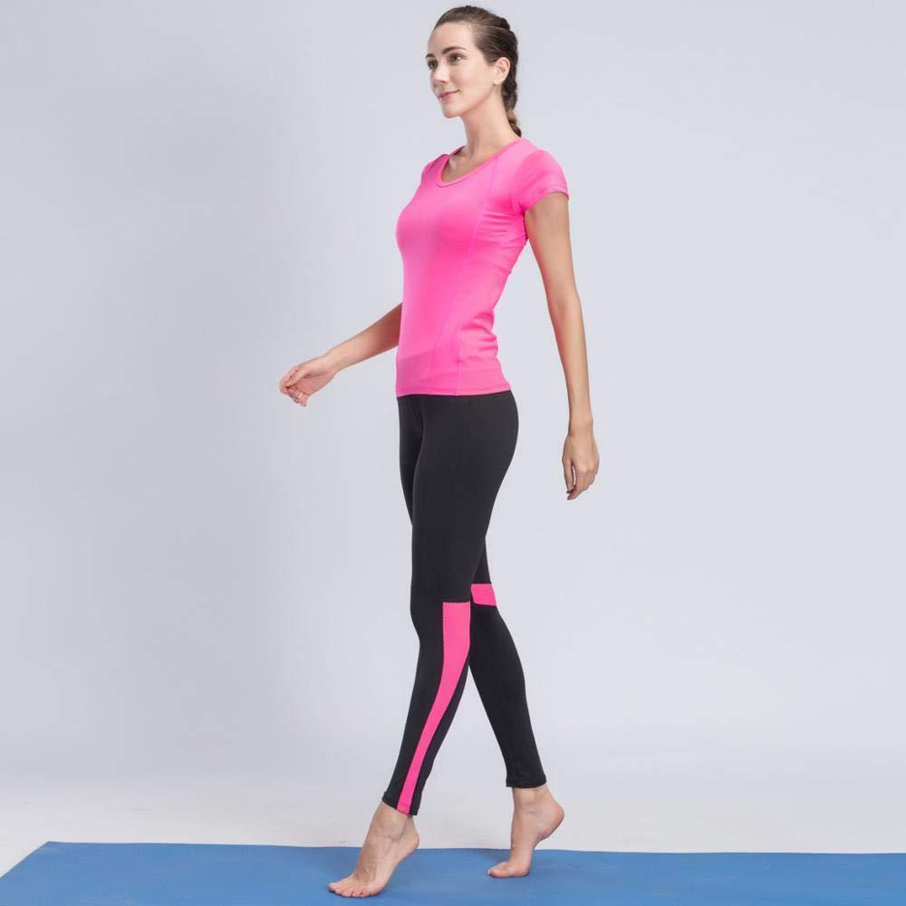 YANGCONG Ropa de Fitness de Yoga Conjunto de Yoga para ...
