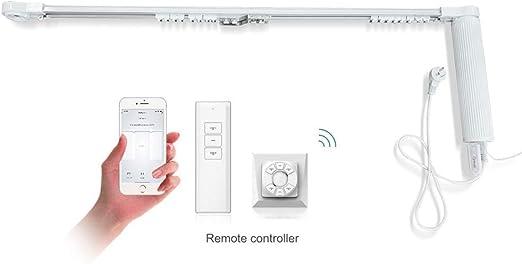 DIY Wifi Smart Automatic Curtain Motor Track System,Automatic curtains motor,aut