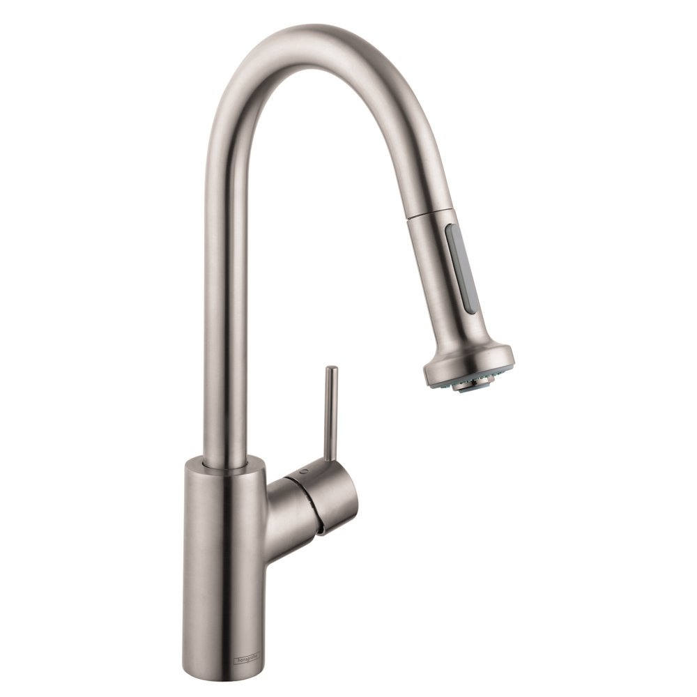 Hg Talis S 2 Kitchen Faucet With Pull Down Sprayer Touch On Parts Diagram For Gourmet Single Handle 150 450 Sink Faucets
