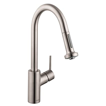 Hansgrohe 14877801 Talis S 2 Kitchen Faucet with Pull Down 2 Sprayer ...