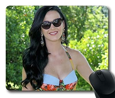 Katy Perry Pop Singer Mouse Pad/Mouse Mat Rectangle by ieasycenter