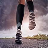 Compression Socks(20-30 mmHg) for Women & Men, Best for Running Athletic Sports Circulation Flight Travel Nurses & Recovery - 1pair