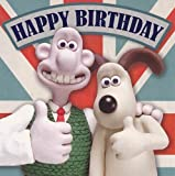 Wallace And Gromit - Happy Birthday Card, Square