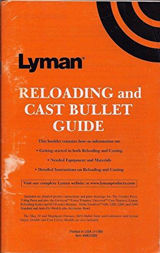 Lyman Reloading and Cast Bullet Guide (Item #9837283) (Cast Bullet Manual)
