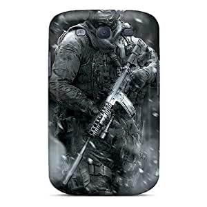 MSi4276Gwgr Faddish Call Of Duty Infantry Case Cover For Galaxy S3