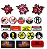 20pk 3M Funny Hard Hat Helmet Sticker Combo Value Pack Extreme Edition Toolbox