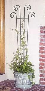 Panacea Products 48-Inch Wave Pot Trellis, Green Outdoor/Garden/Yard Maintenance (Patio & Lawn upkeep)