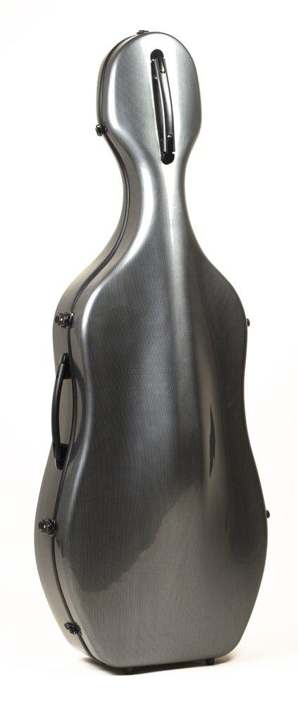 Guardian CV-070-CGY Composite Cello Case, Grey