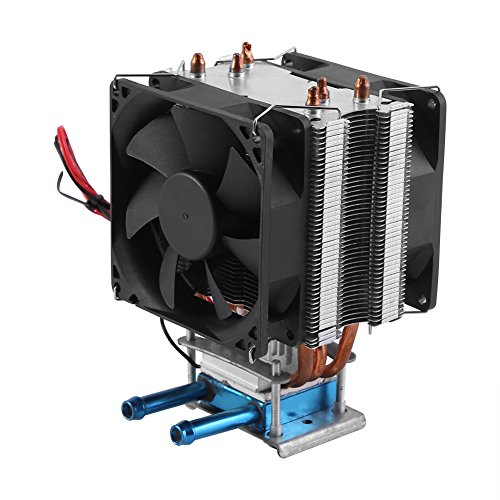 12V 180W Semiconductor Refrigeration Cooler Thermoelectric Peltier Water Cooling System DIY Device with Fan by Walfront (Image #6)