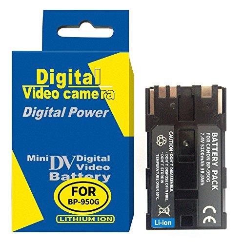 Bp 945 Compatible Battery - RUISI BP-950G Rechargeable Battery For CANON BP-945,BP-941,BP 950,BP 950G,BP 950,BP 945, BP 941 Camera Battery