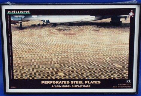 Plastic 1//48 Eduard Perforated Steel Plates Display Base Assembled Runways