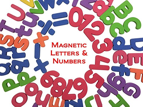 THICKER Magnetic Letters and Numbers- Alphabet Number ...