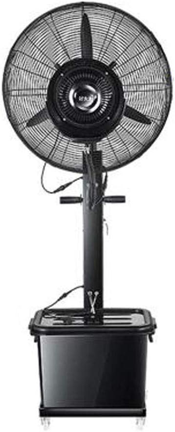 Ventilador de Pedestal Industrial Ventiladores de Niebla de Mesa Pedestal de rociado oscilante Ventiladores de pie con 3 velocidades de enfriamiento Motor Fuerte oscilado de 90 ° para Uso Industrial: Amazon.es: Hogar