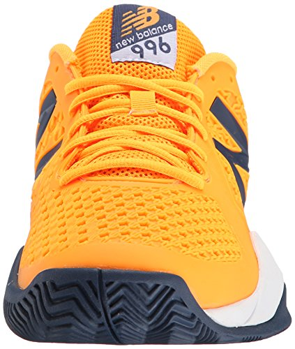CHAUSSURES DE TENNIS HOMME NEW BALANCE MC996OG2 ORANGE/BLEU
