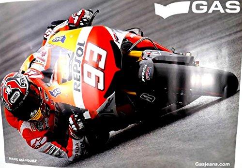 official-marc-marquez-93-dani-pedrosa-26-moto-gp-honda-repsol-poster