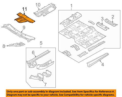 Mazda OEM 07-12 CX-7 Floor Rails-Bulkhead EH145639XA by Mazda (Image #3)