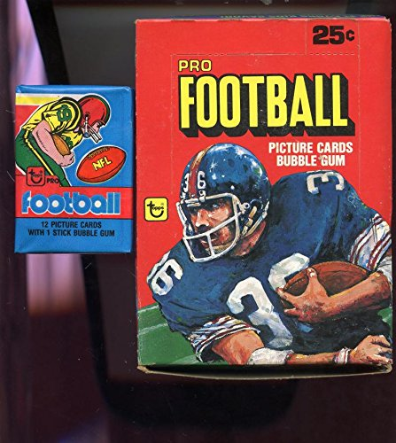 1980 Topps Football Card Set Wax Pack Box 1979 Wrappers Phil Simms Walter Payton