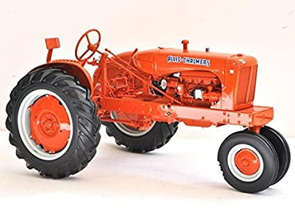 Tractor Farm Allis Chalmers 1930s 1940s Antique Vintage Machinery 1 12 Pre Built Metal Diecast Scale