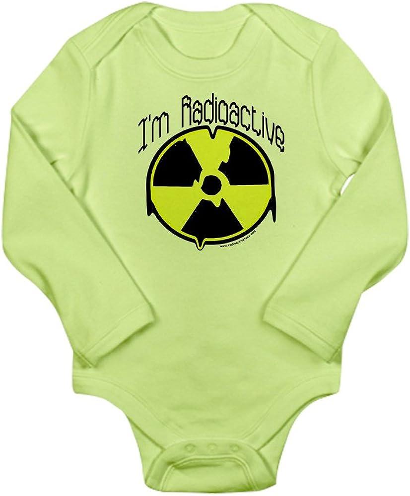 CafePress Imradioactive Body Suit Cute Long Sleeve Infant Bodysuit Baby Romper