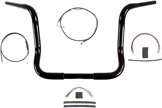 Hill Country Customs 1 1//4 Chrome 14 Ape Hanger Handlebar KIT 2008-2013 Harley-Davidson Electra Glide Street Glide wABS BC-HC-BB14C-ESG08-ABS
