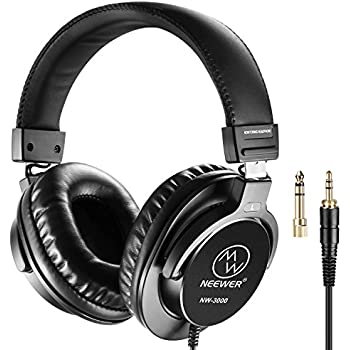 Amazon Com Neewer Studio Monitor Headphones Dynamic