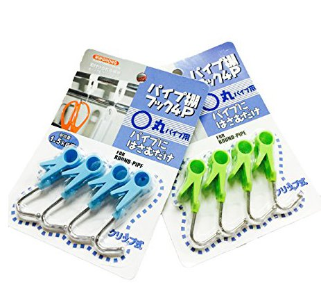 8 Pcs Portable Laundry Hook/hanging Clothes Pins/multi-functional Clips/stainless Steel Hook/ Clothing Hanger Hold Clips, for Hanging Clothing or Kitchen Products ()