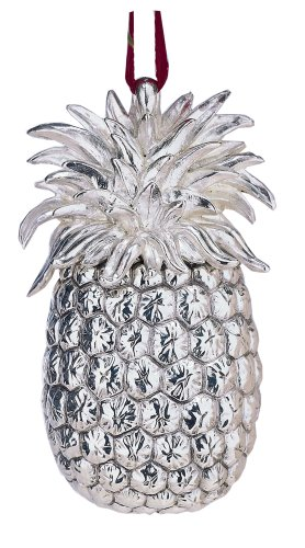 Reed & Barton Colonial Williamsburg Annual Sterling Silver Pineapple Ornament