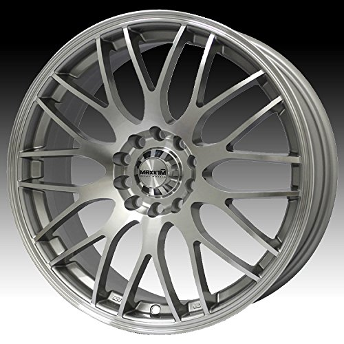 Maxxim Maze 16×7 Silver Wheel / Rim 4×100 & 4×4.5 with a 40mm Offset and a 73.10 Hub Bore. Partnumber 38S-MZ67D0440M