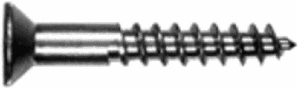 Hillman Wood Screws No 10 X 1  Phillips Flat Head
