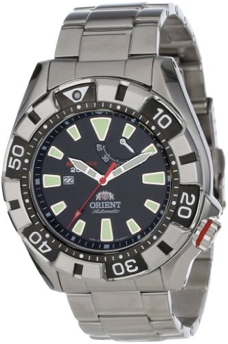Orient Men's SEL03001B0 M-Force Stainless Steel Automatic Dive Watch ()