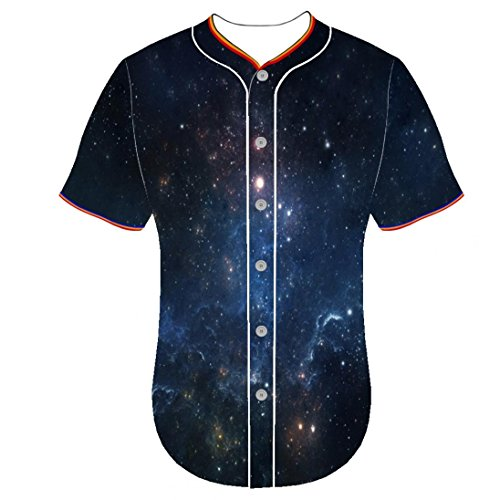 Mens Fancaoping Round Collar Button Front Shirt Baseball Team Jerseys 3d printed shirts 3D Prints jerseys Universe - Beyonce Skinny Jeans In