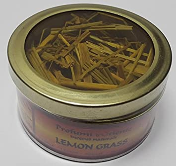 10 g Lemon Gross caja incienso Citronela pura india Carbón Limón ...