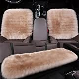 LPY-Luxury Australian Car Sheepskin Seat Covers Universal Fit , a
