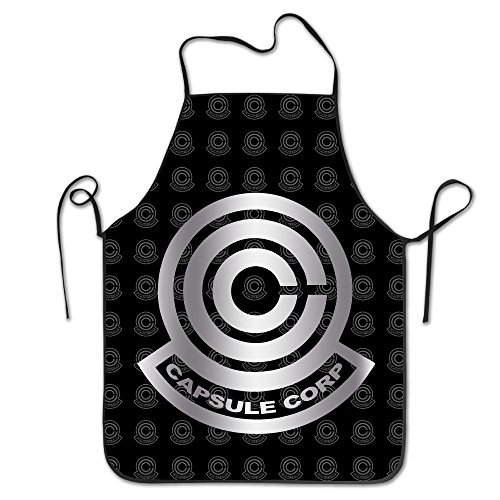 Dragon Ball Capsule Corpora Platinum Logo Kitchen Barbecue (Army Doctor Adult Costumes)
