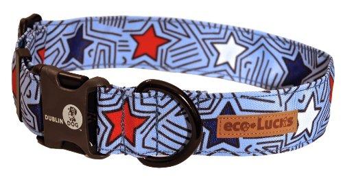 Dublin Dog Eco-Lucks Eco-Friendly Dog Collar, Starpop, Large