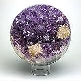 Astro Gallery Of Gems Amethyst Geode Agate Sphere (6'' diameter, 10 lbs)