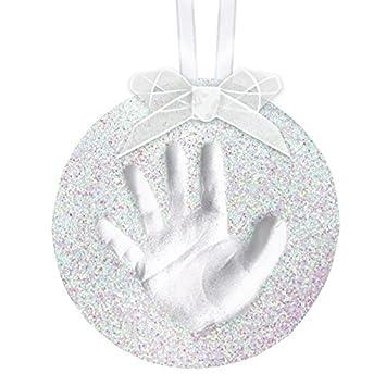 Amazon pearhead babyprints handprint or footprint holiday pearhead babyprints handprint or footprint holiday glitter ornament solutioingenieria Images