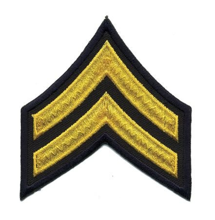 Embrdrd Patch Cpl Gold/Midnight Navy Pr