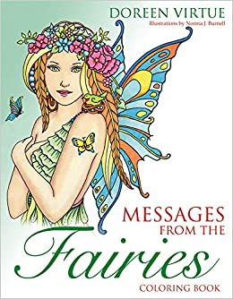 Amazon.com: Messages from the Fairies Coloring Book ...