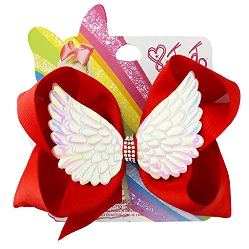 Angel Shimmer Wig - Lovhop 6Inch Kids Girl Large Grosgrain
