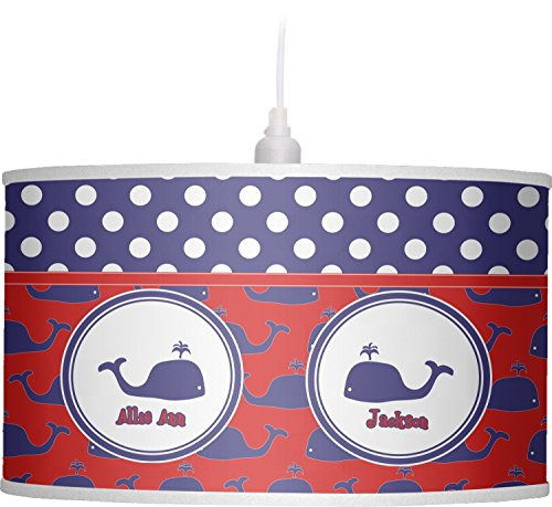 RNK Shops Whale Drum Pendant Lamp Polyester (Personalized) by RNK Shops