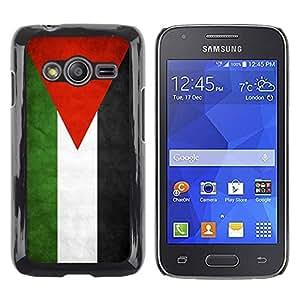 Be Good Phone Accessory // Dura Cáscara cubierta Protectora Caso Carcasa Funda de Protección para Samsung Galaxy Ace 4 G313 SM-G313F // National Flag Nation Country Jordan
