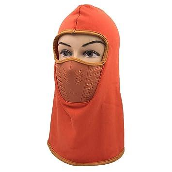 NEWELLYY Sombrero de Invierno Slouch de Punto para Mujer, máscara ...