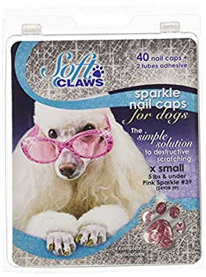 Soft Claws Canine Nail Caps - 40 Nail Caps Adhesive Dogs by Smart Practice