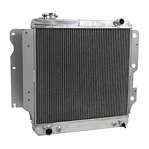OzCoolingParts 87-06 Jeep Wrangler Radiator, Pro 3 Row Core Full Aluminum Radiator for Jeep Wrangler YJ TJ 1987-2006 88 89 90 91 92 93 94 95 96 97 98 99 00 01 02 03 04 05 2.4L 2.5L 4.0L 4.2L, L4 L6 -